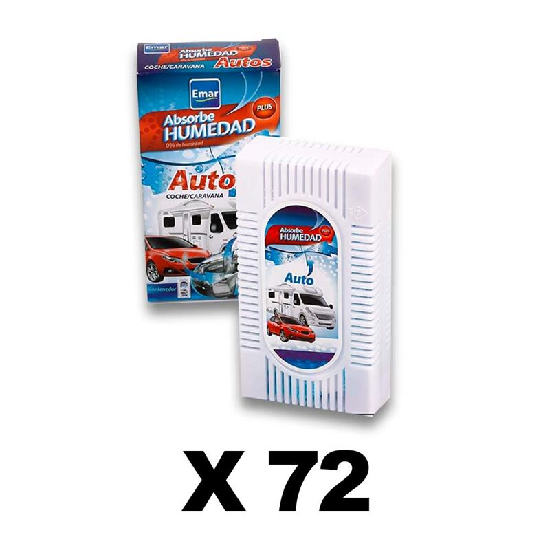 BOX 72 Units 6545-Absorbing Humidity Cars Caravans Airtight Anti-discharges