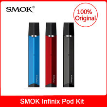 SMOK INFINIX комплект 450 мАч батарея 2 мл Pod электронная сигарета кальян ручка электронная сигарета Воздушная система вейп ручка испаритель