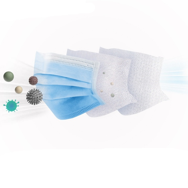 5-50 Pcs/Bag 3 Layer Non-woven Dust Mask Thickened Disposable Mouth Mask  Bacteria Proof Flu Face Masks 2