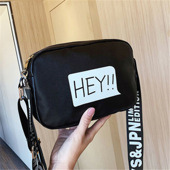 Shoulder Bag Box Shape New Design Hey Letter Bags Fashion Women Bags Shoulder Handbag Tote Messenger Satchel image
