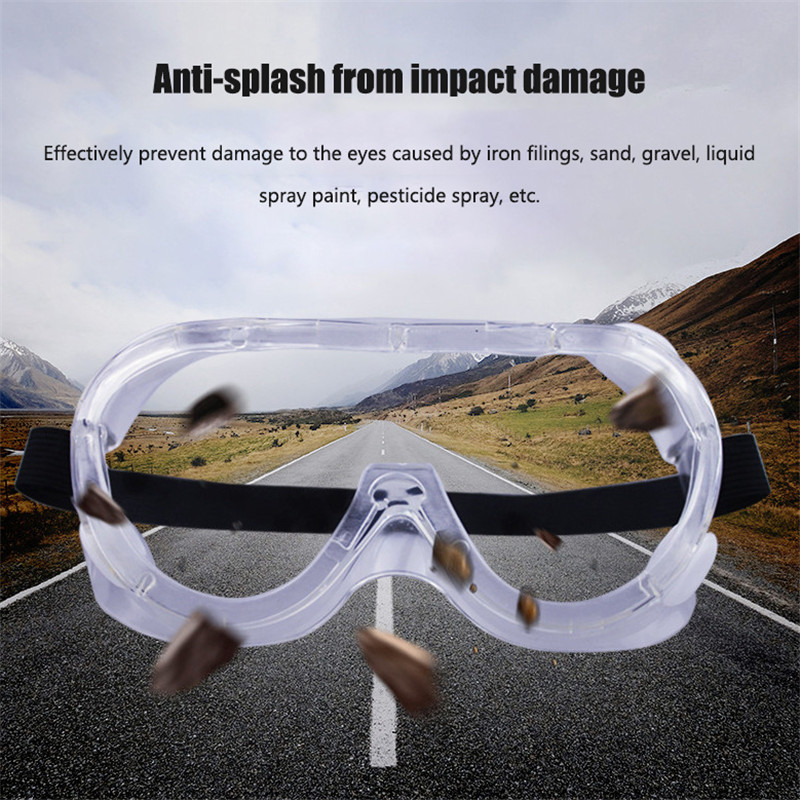 Protective Safety Goggles Glasses For Work Antiviral Cycling Eyewear Anti-fog Transparent Swimming Goggles Eye Protection