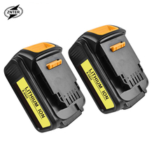ZNTER 6000mAh 18V/20V XR for Dewalt Power Tool Battery for DCB180 DCB181 DCB182 DCB201 DCB201-2 DCB200 DCB200-2 DCB204-2 L50 18v 3000mah dcb200 li ion rechargeable power tool battery for dewalt dcb203 dcb181 dcb180 dcb200 dcb201 dcb201 2 l10