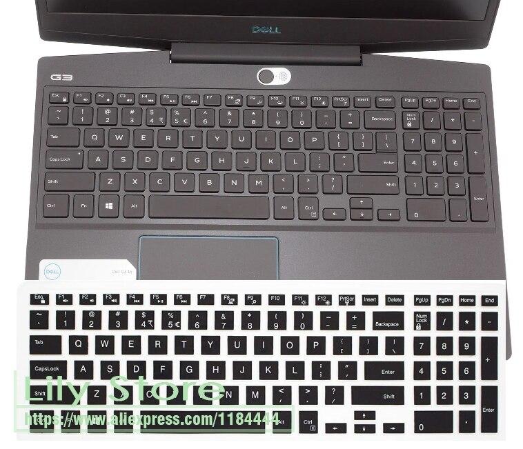 Para Dell Inspiron 3000 15 3580, 3583, 3584, 3585, 3582, 3590 G3 3573, 3576, 3578, 3579, 15,6 pulgadas cubierta de teclado del ordenador portátil Protector de la piel