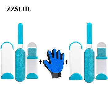 Pet Cleaning Kit Surprise Offer Pet Grooming Glove Hair Remover Brush Gentle Deshedding Pet Massage Gloves Perfect For Dogs Cats 1