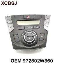 Khí Hậu Điều Khiển Máy Điều Khiển Nguy Hiểm Ánh Sáng Chuyển Đổi Một/C Điều Hòa Không Khí Điều Khiển Dành Cho Xe Hyundai Santa Fe DM 13  16 972502 Wxxx