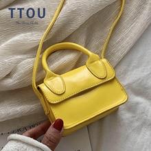 Purses Handbags Lipstick-Bag Shoulder Luxury-Handle Small Women Designer Brand Totes
