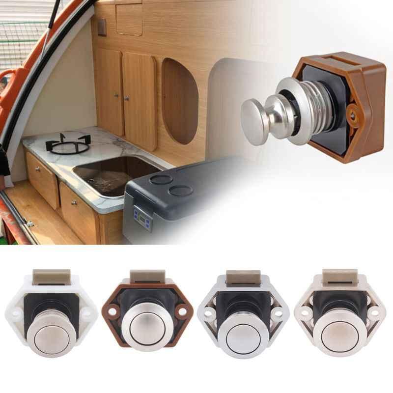 Diamètre 20mm camping-Car voiture Push Lock RV caravane bateau tiroir loquet bouton serrures pour matériel de meubles