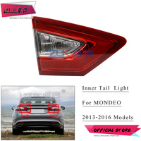 ZUK Car Rear Bumper Inner Tail Lamp Tail Light Taillight For Ford Fusion Mondeo 2013 2014 2015 2016 High Configarution LED Type
