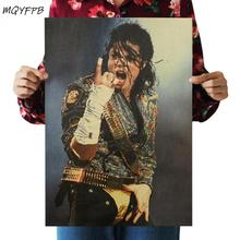Michael Jackson star singer poster home decoration painting character wall sticker room picture painting michael jackson michael jackson off the wall picture