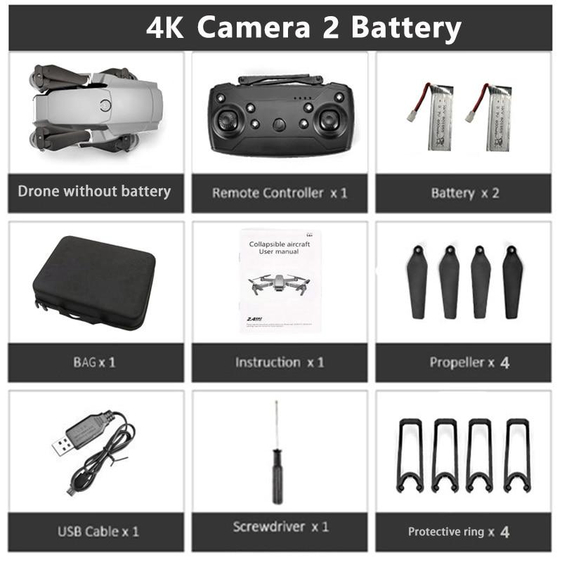 KEELEAD E68 Drone 4K WIFI FPV wide angle Camera Drones HD 1080P Camera optical flow Quadcopter Foldable Arm RC Dron VS E58 M69G