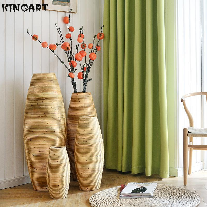 Vase Home Decor Large Bamboo Floor