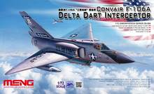 Meng Model 1/72 DS-006 Convair F-106A Delta Dart Interceptor Model kit