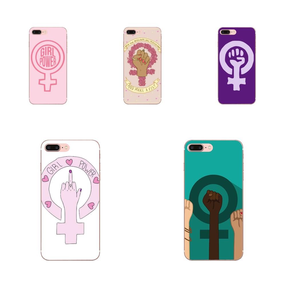 Feminist Logo Pussy Joke Girly Pink For LG G2 G3 G4 G5 G6 G7 K4 K7 K8 K10 K12 K40 Mini Plus Stylus ThinQ 2016 2017 2018 image