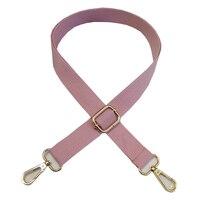 Correa de hombro de repuesto de 130cm, correa de hombro de tela de algodón, ajustable, Color sólido, Asa de bolsa, accesorios, novedad