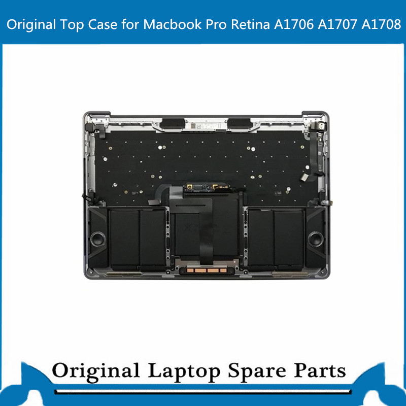 Top case d'origine avec clavier Touchbar Trackpad batterie pour Macbook Pro Retina A1707 A1706 A1708 Palmrest C Case 13' 15'