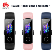 Huawei社の名誉バンド 5 スマートリストバンド血中酸素マジックカラータッチスクリーン水泳ストローク検出心拍数睡眠昼寝