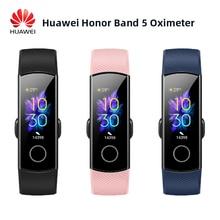 Huawei onur Band 5 akıllı bileklik oksimetre kan oksijen sihirli renk dokunmatik ekran yüzme zamanlı algılama kalp hızı uyku şekerleme