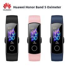 Huawei pulsera inteligente Honor Band 5, oxímetro con pantalla táctil mágica, control del ritmo cardíaco y del sueño
