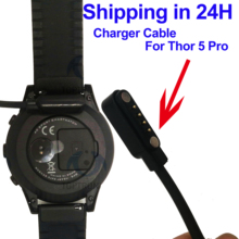 Accessories Smart Watch Charger Cable For Zeblaze Thor 4 5 Pro Top 4G Replacement Magnetic Wearable Devices Chargers Adapter 1M cheap TOPTRONICS All Compatible English Push Message Adult Black For Zeblaze thor 5 pro smart watch For Zeblaze thor 5 pro smart wristwatch Cable