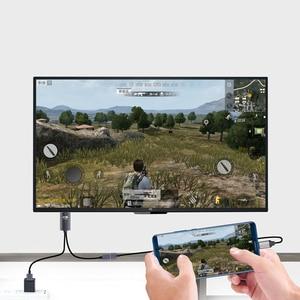 Image 2 - Larryjoe 2K Bluetooth USB อะแดปเตอร์สาย HDMI สำหรับ IPhone 11 PRO MAX XS XR 6 7 8 PLUS Samsung s8 LG IOS Android โทรศัพท์ทีวี HDTV