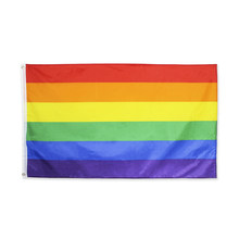 Johnin 90*150 Cm Homoseksual Philadelphia Philadelphia LGBT Gay Pride Rainbow Flag(China)
