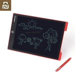 Image 1 - Youpin Wicue LCD yazma tableti el yazısı kurulu tek renkli elektronik çizim hayal grafik pedi çocuk ofis