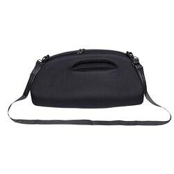 Hard Protective Case, Custom Speaker Protective Case for  Boombox Wireless Bluetooth Speaker - Black
