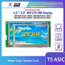 Écran tactile résistif de Module LCD Dwin T5 HMI, 4.3/5.0