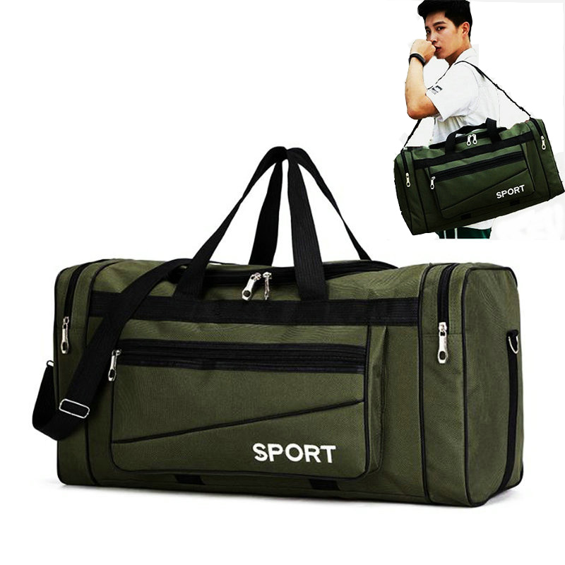 Big Sports Duffel Bag Men Gym Bags Training Sac De Sport Travel Gymtas Oxford Waterproof Sport Gym Handbag Travel Luggage Bags