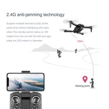 2021 New Mini Drone XT6 4K 1080P HD Camera WiFi Fpv Air Pressure Altitude Hold Foldable Quadcopter RC Drone Kid Toy GIft VS E520 5