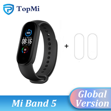Original Global Version Xiaomi Mi Band 5 Band 4 Multi Language Wristband Fitness Smart Bracelet Heart Bluetooth5.0 Waterproof