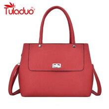 Vintage PU Leather Ladies HandBags Lock Women Totes Designer Crossbody Shoulder Bag Large Capacity Hand Bags Bolsa Feminina цены