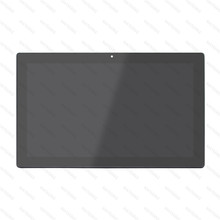 For Lenovo Miix 510-12ISK 80U1 80U10086AU 80U1004GAU 80U1004EAU 80U1004HAU LCD Display Touch Screen Assembly With for lenovo miix 3 1030 miix 3 1030 lcd screen display with touch screen digitizer panel frame assembly 100% warranty