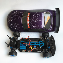 HSP RACING RC CARS FLYING FISH 94103TOP 1/10 SCALE 4WD ON ROAD ELECTRIC POWER BRUSHLESS RALLY CAR READY TO RUN