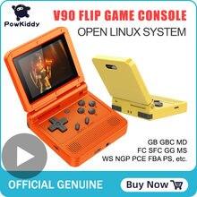 Powkiddy портативная игровая ретро консоль мини аркадная видеоигровая