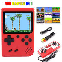 Retro Game Console Player on TV Mini Handheld Game Console 8-Bit 3.0 Inch Built-in 400 Games Box Classic Retro Gamepad Gift Kids