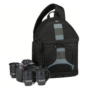 Image 1 - Lowepro مقلاع 300 AW DSLR كاميرا صور حقيبة كتف بحب تعليق مع غطاء الطقس شحن مجاني
