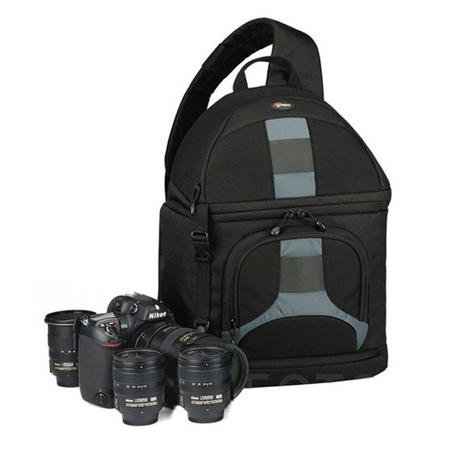 Lowepro مقلاع 300 AW DSLR كاميرا صور حقيبة كتف بحب تعليق مع غطاء الطقس شحن مجاني