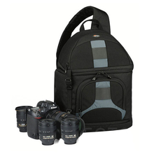 лучшая цена Lowepro SlingShot 300 AW  DSLR Camera Photo Sling Shoulder Bag with Weather Cover Free Shipping