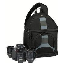 Lowepro estilingue 300 aw dslr câmera foto sling bolsa de ombro com capa meteorológica frete grátis
