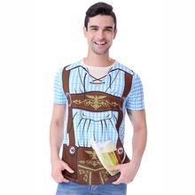 Men Oktoberfest 3D Cosplay T-Shirt