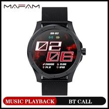 MAFAM MX10 2020 Bluetooth Smart Watch Men 260 mAh Battery Music Playback IP68 Waterproof Fitness Sport Smartwatch For Android