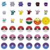 Pop It Anime Pokemon Pikachu Patrol Dog Christmas Fidget Squishy Sensory Pop It Stress Kawaii Stress Relief Squeeze Toys for Kid