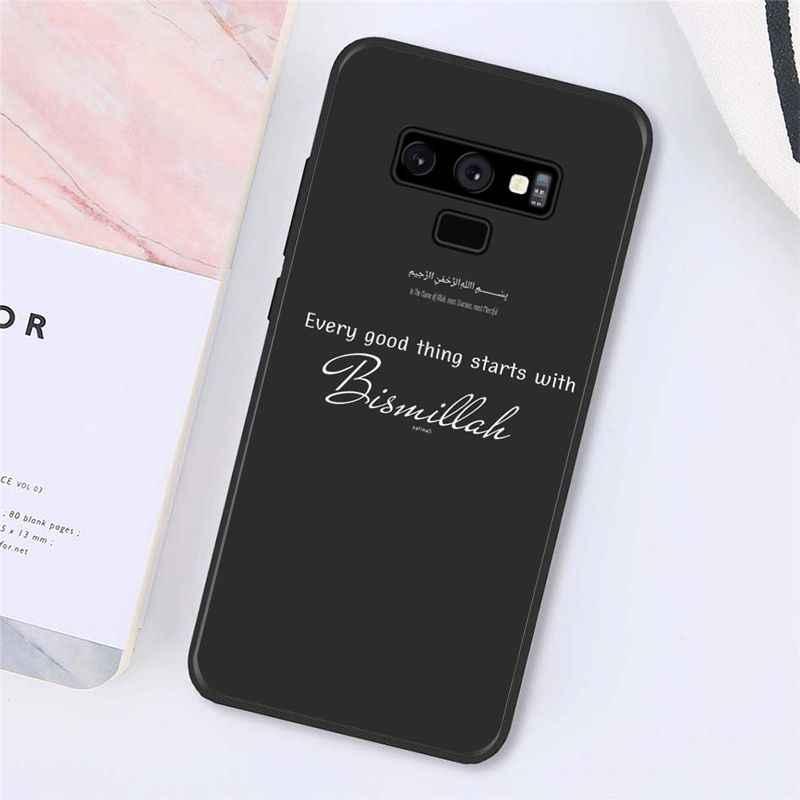 MaiYaCa Musulmano Islam Bismillah Allah Cassa Del Telefono Per Samsung Galaxy A50 A70 A20 A30 Note9 8 Note7 Note10 Pro