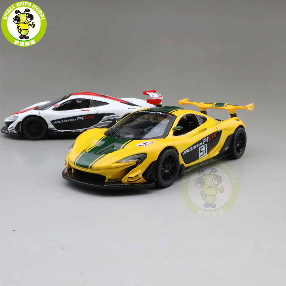 1/32 CAIPO P1 GTR 2014 Racing Series Diecast Model CAR Toys For Kids Children Pull Back Sound Lighting Gifts