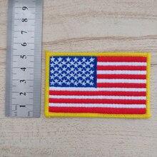 20 шт. флаг военный значок пришить патч для одежды вышитые нашивки джинсовая куртка Лоскутная аппликация одежды пальто декор обуви