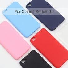 Силиконовый чехол для xiaomi redmi go мягкий накладка из ТПУ