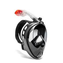 Spearfishing Snorkeling Mask for men women Full Face Scuba skin Diving Children's Underwater Anti Fog Swimming goggles
