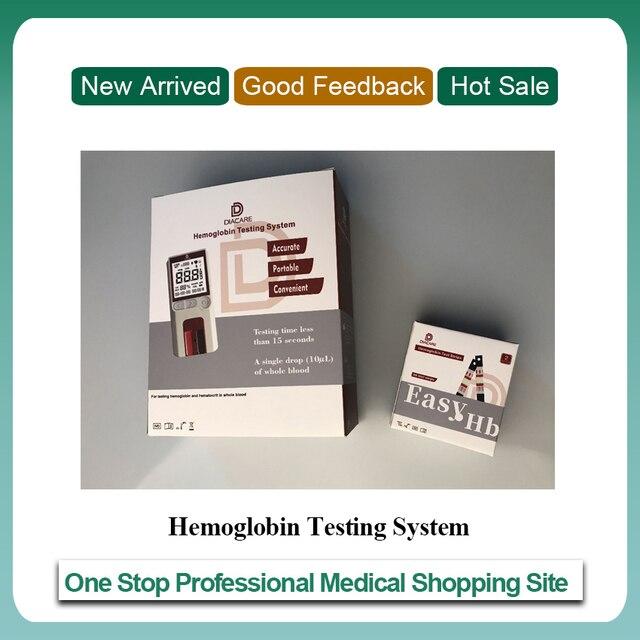 50pcs 시험 지구를 가진 의료 기기 POCT 헤모글로빈 미터/헤모글로빈 해석기/헤모글로빈 시험 기계