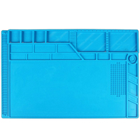 S-180 A1 ESD Heat Insulation Working Mat Heat-Resistant Soldering Hand Repair Tools Insulator Pad Maintenance Platform